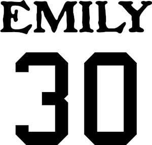 Team Bronte Emily 30