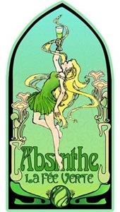 Art Nouveau Absinthe La Fee Verte