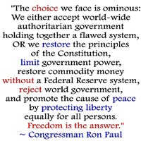 Ron Paul: Freedom is the Answer