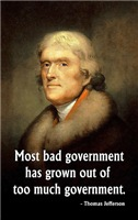 Jefferson, Most Bad Government