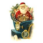 Santa's Hot Rod