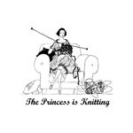 The Princess is Knitting