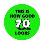70th Birthday - Happy Birthday