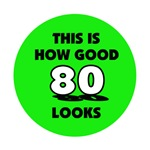 80th Birthday - Happy Birthday