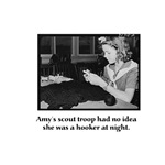 Crochet Hooker at Night