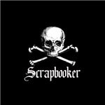 Scrapbooker - Crafty Pirate Skull & Crossbones