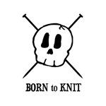 Born to Knit - Pirate Skull