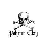 Poymer Clay - Skull & Crossbones