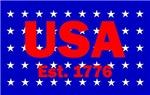 USA Est. 1776