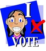 I Vote (Red, White & Blue)