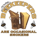Beekeepers are occasional smokers