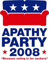 Apathy Party 2008