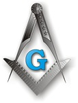 Masonic Square and Compass #12