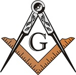 Masonic Square and Compass #43