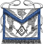 Masonic Apron No. 2