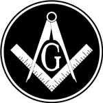 Masonic Square and Compass #16