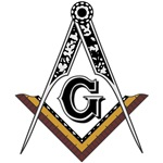 Masonic Square and Compass #1