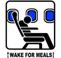 *NEW DESIGN* Wake For Meals!