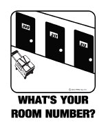 *NEW DESIGN* What's Your Room #?