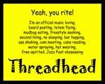 YYR! I'm a Threadhead (Undated)