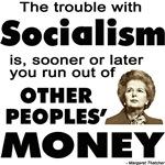 Thatcher Socialism Quote