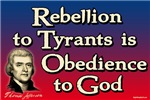 Rebellion to Tyrants