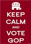 Keep Calm and Vote GOP