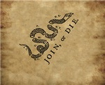Join or Die - All Over Print
