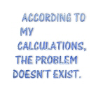 The problem doesn't exist