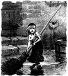 Victor Hugo's Cosette 1862