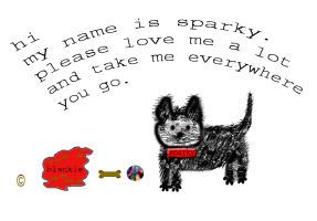 PETS/SPARKY THE DOG