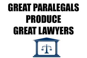 EDUCATION/OCCUPATIONS-GREAT PARALEGALS PRODUCE GRE