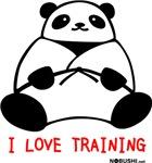 I Love Training: Panda