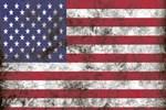 Dirty American Flag