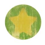 Vintage Yellow Star