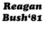 Reagan Bush 81