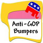 Anti-Republican Bumper Stickers