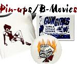 Vintage Movie Poster Tees, Pin-ups, Poker Tees