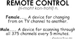 Meaning of Remote Control
