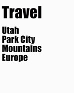 Utah and Park City Items - Travel