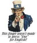 Uncle Sam's Finger