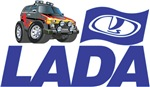 Lada Logo with Cool Niva