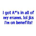 I got A*'s