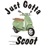 Just Gotta Scoot Vespa ET