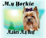 My Yorkshire Terrier Makes My Day