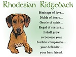 Rhodesian Ridgeback Puppy Gifts