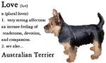 Australian Terrier Love Is