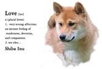 Love Is Shiba Inu Gifts