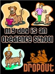 Funny Dog Obedience T-shirts and Gifts