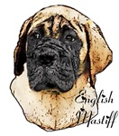 English Mastiff Lovers Art Gifts